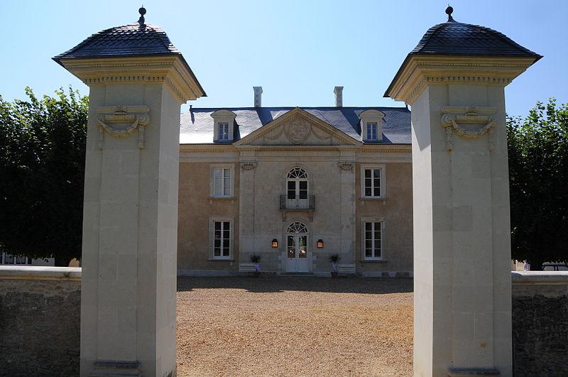 Photo du Monument Historique Maison de maître de la Charpenterie situé à Cornillé-les-Caves