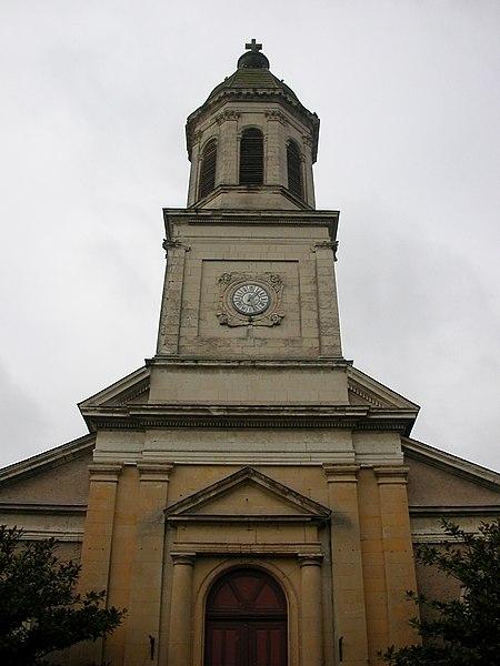 Photo du Monument Historique Eglise Saint-Germain situé à Saint-Germain-des-Prés