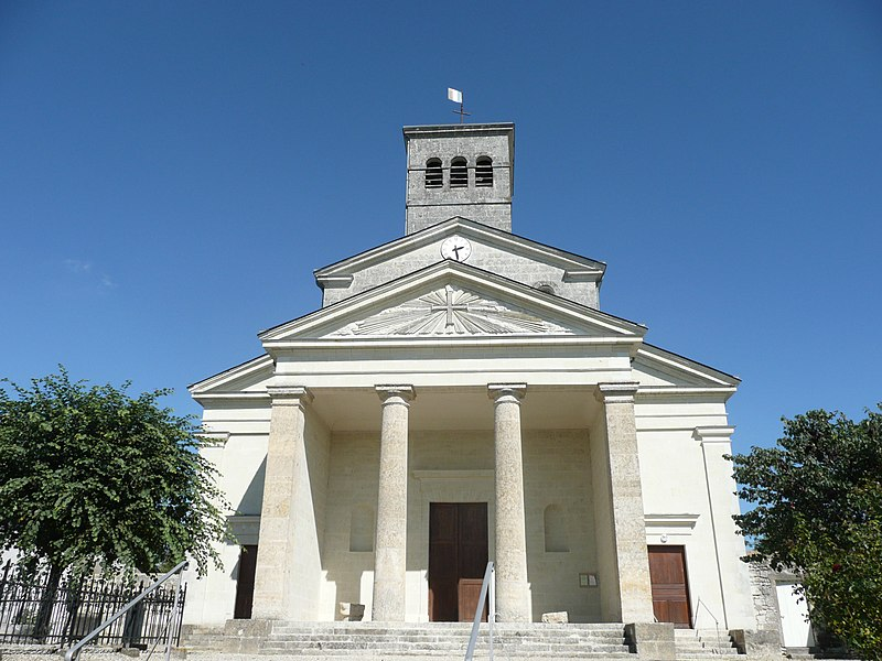 Photo du Monument Historique Eglise Saint-Pierre situé à Vaudelnay