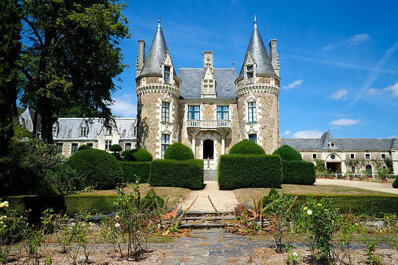 Photo du Monument Historique Château du Pin situé à Champtocé-sur-Loire