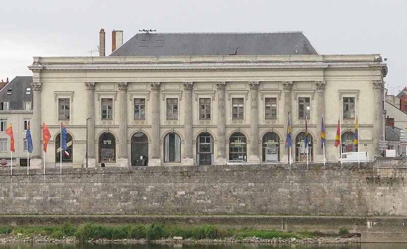Photo du Monument Historique Théâtre situé à Saumur