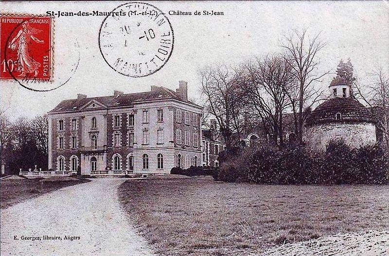 Photo du Monument Historique Château Saint-Jean situé à Saint-Jean-des-Mauvrets