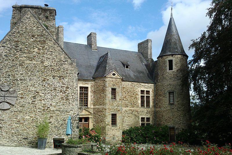 Photo du Monument Historique Château Sainte-Marie situé à Agneaux