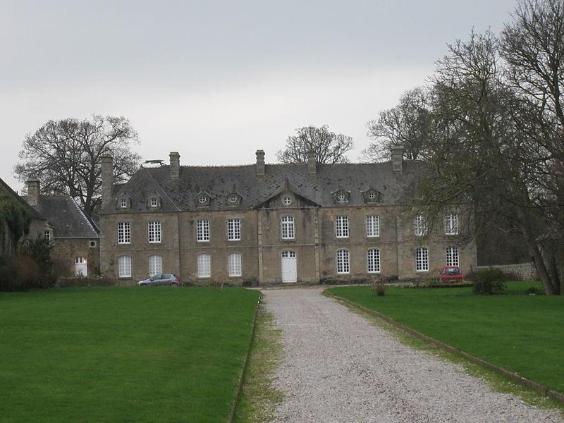 Photo du Monument Historique Château dit Maison d'Anneville situé à Anneville-en-Saire