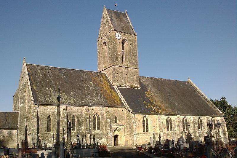 Photo du Monument Historique Eglise Saint-Etienne situé à Auvers