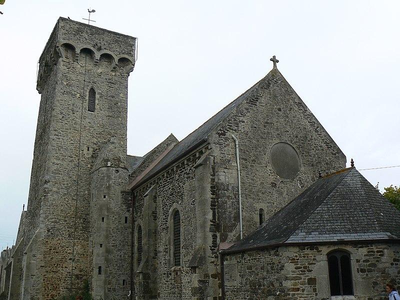 Photo du Monument Historique Eglise de Barneville situé à Barneville-Carteret