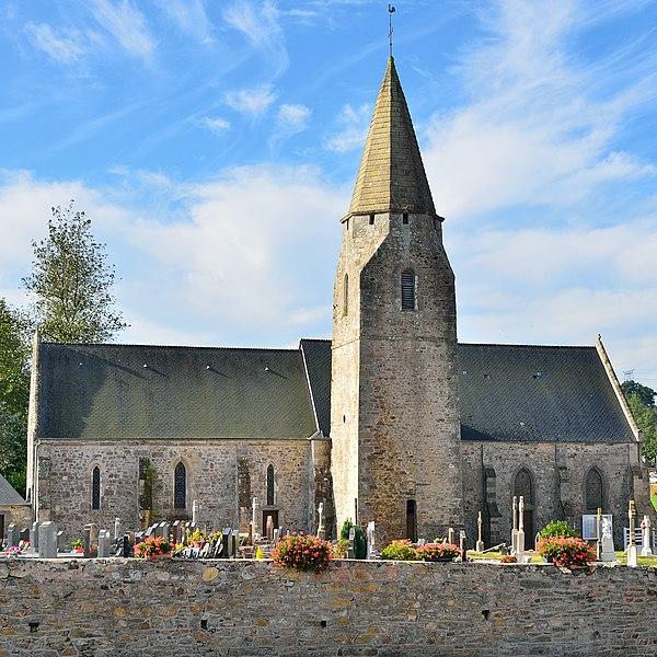Photo du Monument Historique Eglise situé à Benoîtville