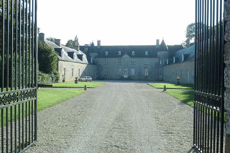 Photo du Monument Historique Château de Plain-Marais situé à Beuzeville-la-Bastille