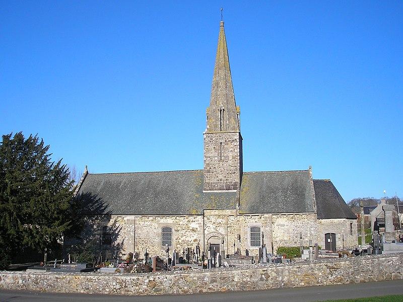 Photo du Monument Historique Eglise Notre-Dame situé à Bréville-sur-Mer