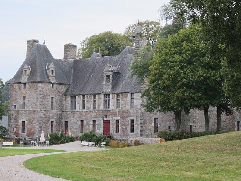 Photo du Monument Historique Château de Cerisy situé à Cerisy-la-Salle