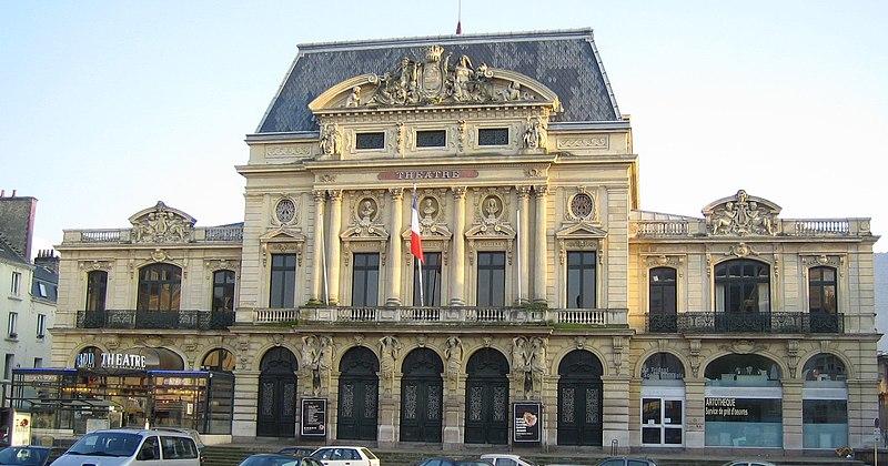 Photo du Monument Historique Théatre municipal situé à Cherbourg
