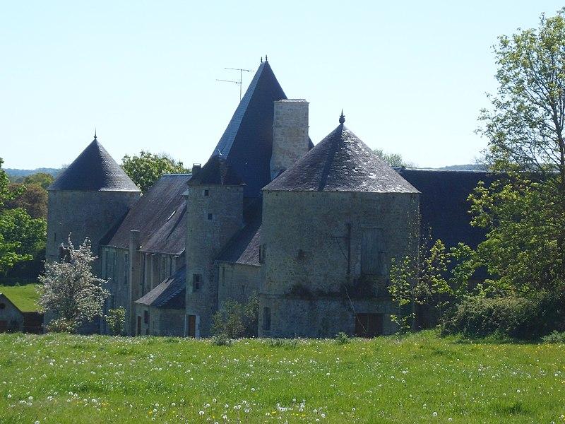 Photo du Monument Historique Vieux château situé à Coigny