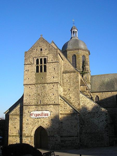 Photo du Monument Historique Eglise Saint-Nicolas situé à Coutances