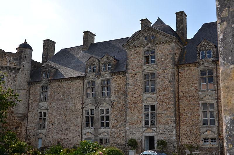 Photo du Monument Historique Château situé à Crosville-sur-Douve