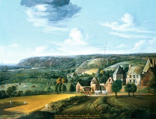Photo du Monument Historique Manoir de Potrel et ses dépendances situé à Dragey-Ronthon