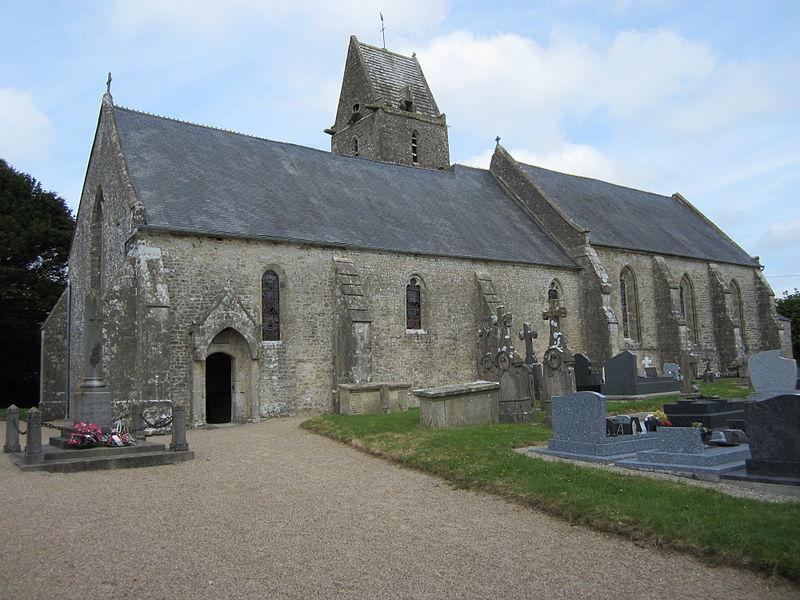 Photo du Monument Historique Eglise situé à Flottemanville