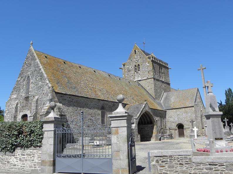 Photo du Monument Historique Eglise et cimetière qui l'entoure situé à Genêts