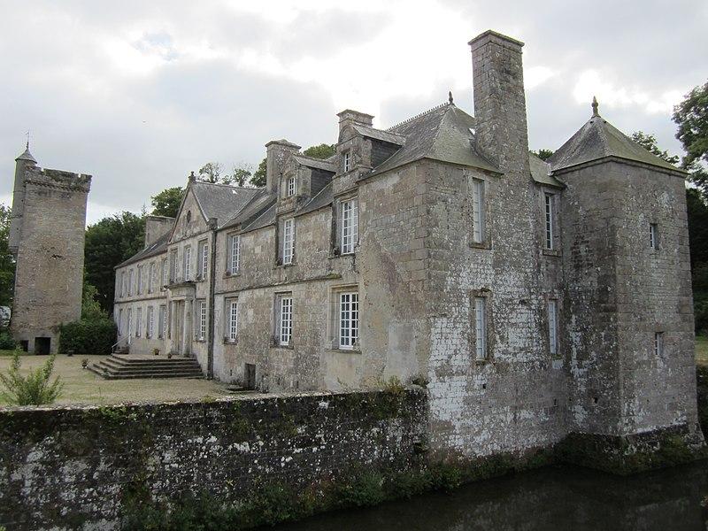 Photo du Monument Historique Château situé à Gonneville