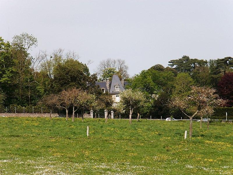 Photo du Monument Historique Château de Grainville situé à Granville