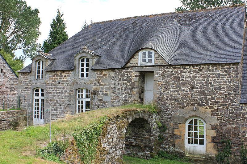 Photo du Monument Historique Abbaye de la Lucerne situé à La Lucerne-d'Outremer