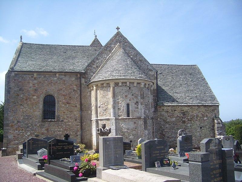 Photo du Monument Historique Eglise situé à Martinvast