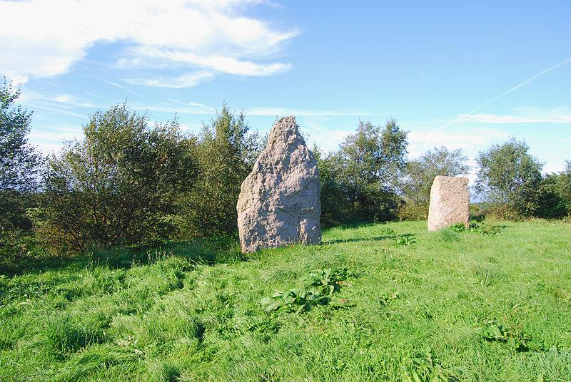 Photo du Monument Historique Menhir situé à Maupertus-sur-Mer