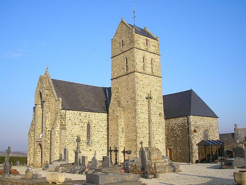 Photo du Monument Historique Eglise paroissiale Saint-Martin situé à Montaigu-les-Bois