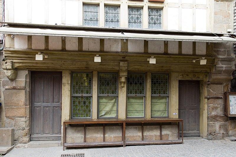 Photo du Monument Historique Ancienne auberge Saint-Pierre situé à Mont-Saint-Michel (Le)