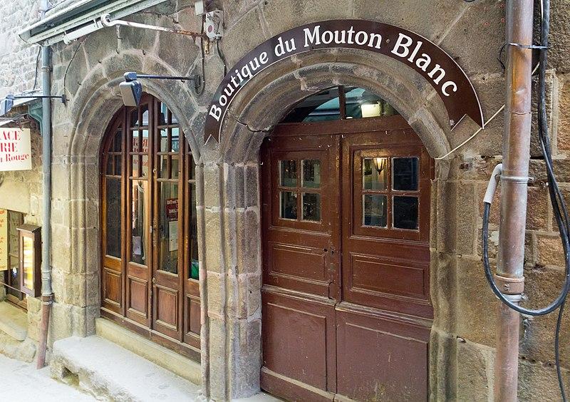 Photo du Monument Historique Ancienne Hôtellerie de l'Escu de Bretaigne situé à Le Mont-Saint-Michel