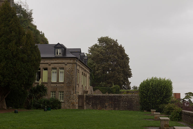 Photo du Monument Historique Jardins Sainte-Catherine situé à Le Mont-Saint-Michel