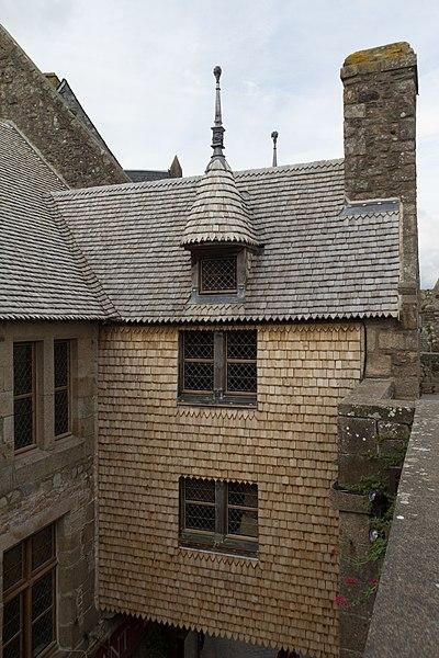 Photo du Monument Historique Maison dite de l'Artichaut (ancienne hôtellerie de la Licorne) situé à Mont-Saint-Michel (Le)