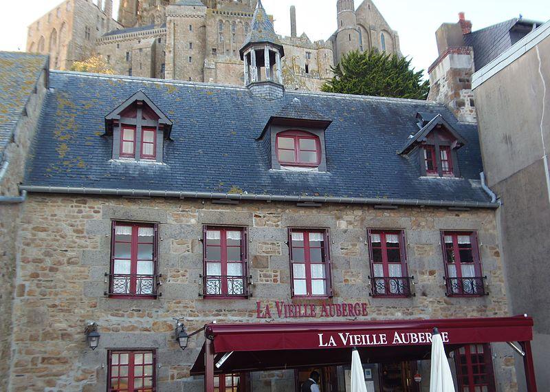 Photo du Monument Historique Maison Lacorne situé à Le Mont-Saint-Michel