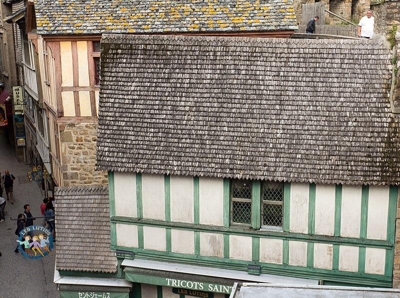 Photo du Monument Historique Maison Piquerel situé à Mont-Saint-Michel (Le)