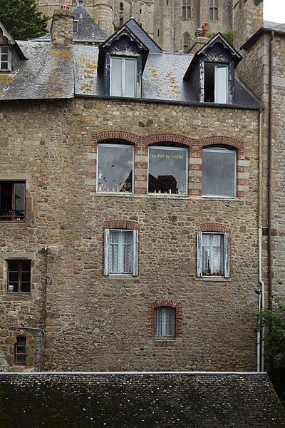 Photo du Monument Historique Maison dite du Pot de Cuivre situé à Mont-Saint-Michel (Le)