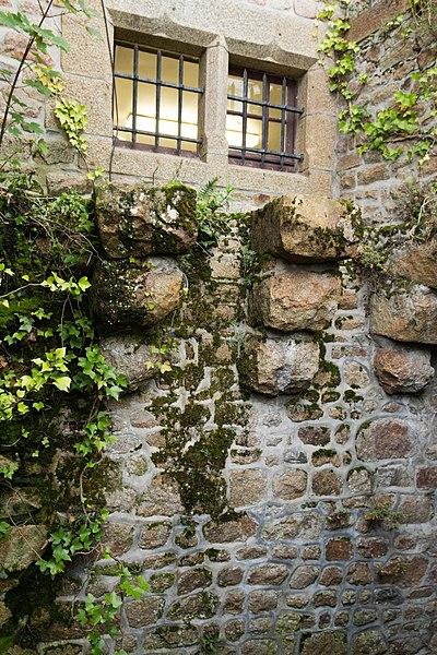 Photo du Monument Historique Vieux murs et jardins Saint-Symphorien situé à Le Mont-Saint-Michel
