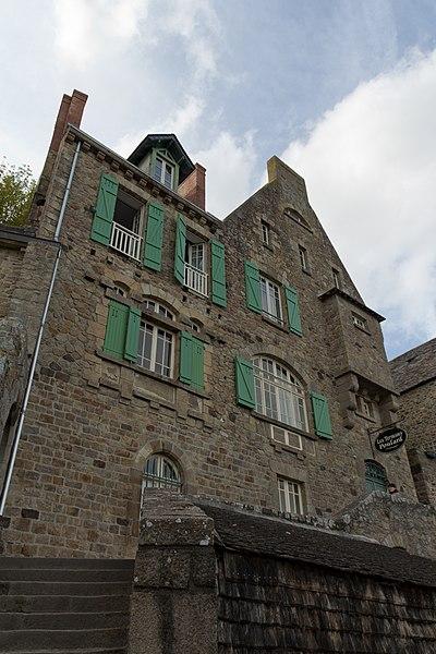 Photo du Monument Historique Propriété de l'Hermitage situé à Le Mont-Saint-Michel