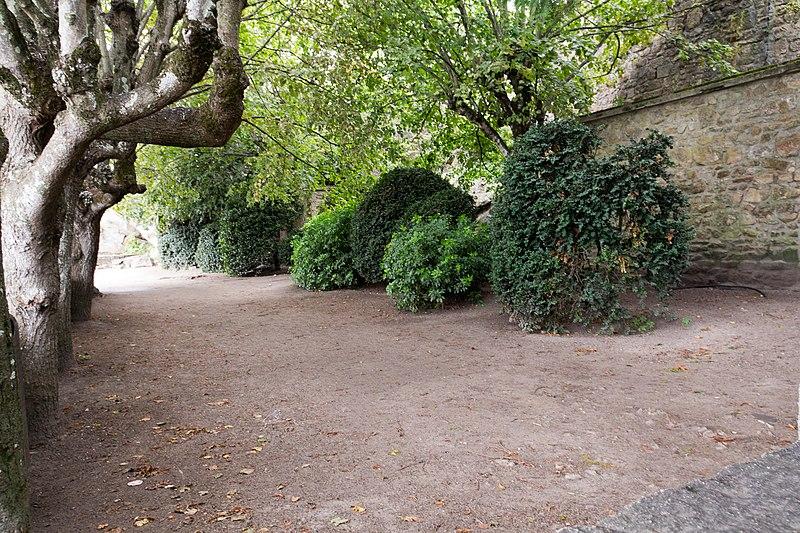 Photo du Monument Historique Terrasse de la Maison-Rouge situé à Mont-Saint-Michel (Le)
