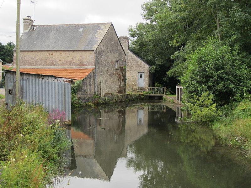 Photo du Monument Historique Moulin situé à Négreville