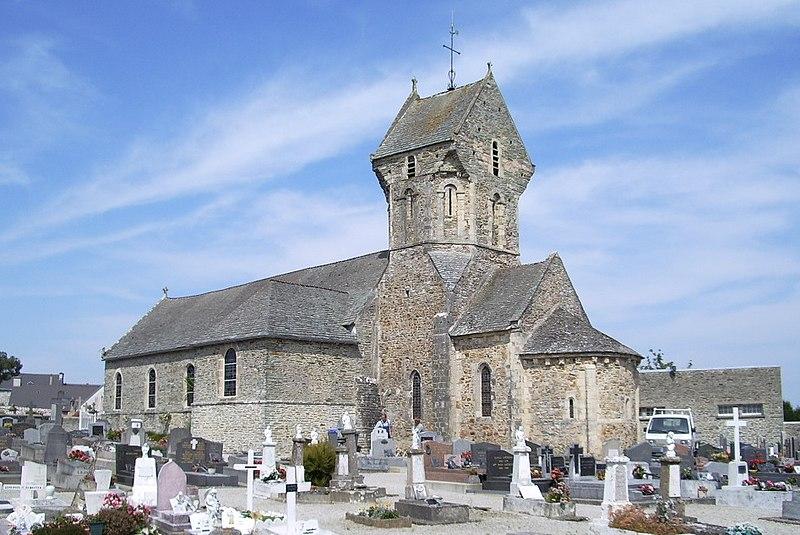 Photo du Monument Historique Eglise situé à Octeville