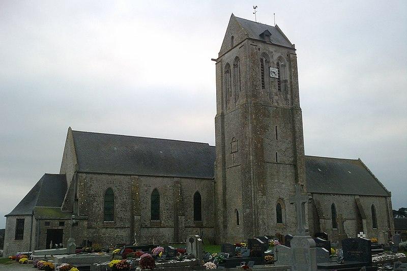 Photo du Monument Historique Eglise paroissiale situé à Orglandes