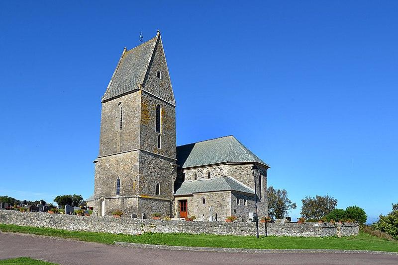 Photo du Monument Historique Eglise situé à Pernelle (La)