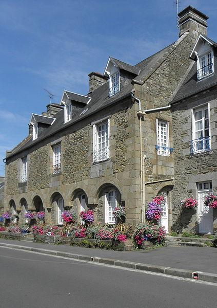 Photo du Monument Historique Hôtel Guiscard-de-la-Ménardière situé à Pontorson