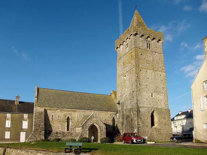 Photo du Monument Historique Eglise Notre-Dame situé à Portbail
