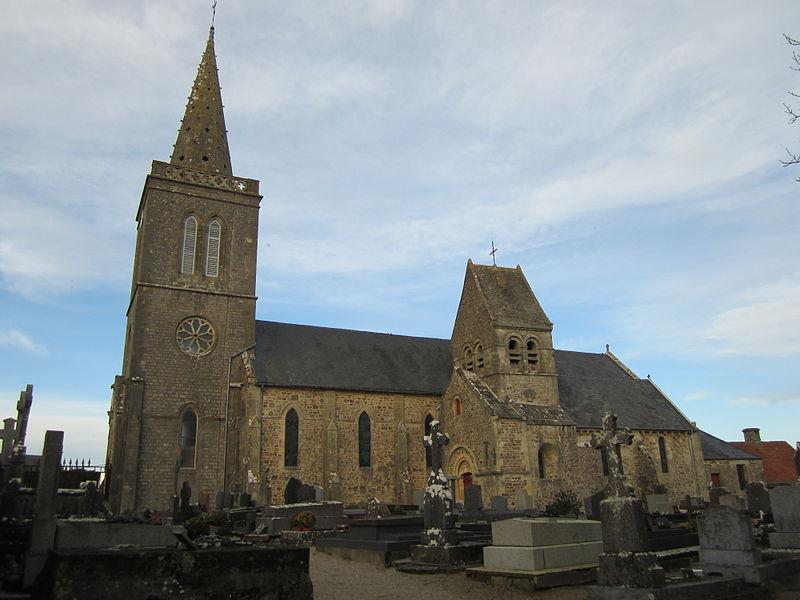 Photo du Monument Historique Eglise situé à Quinéville