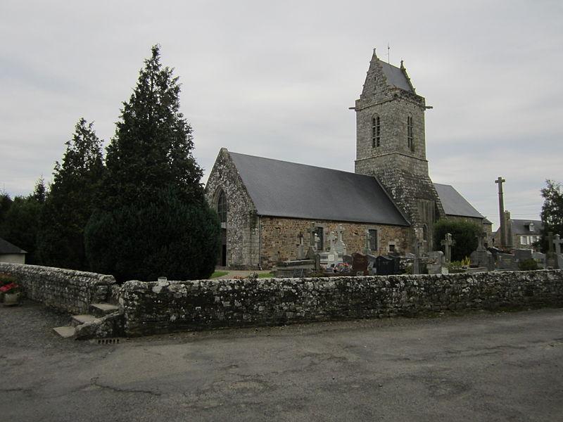 Photo du Monument Historique Eglise situé à Saint-Aubin-des-Préaux