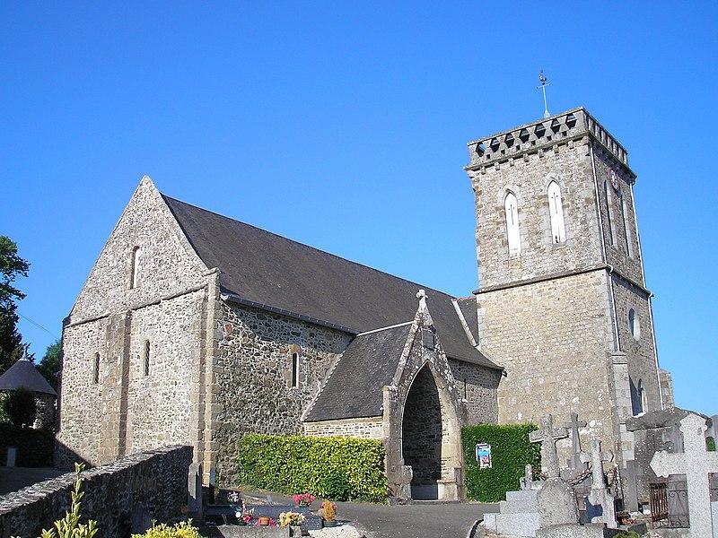 Photo du Monument Historique Eglise situé à Saint-Jean-le-Thomas