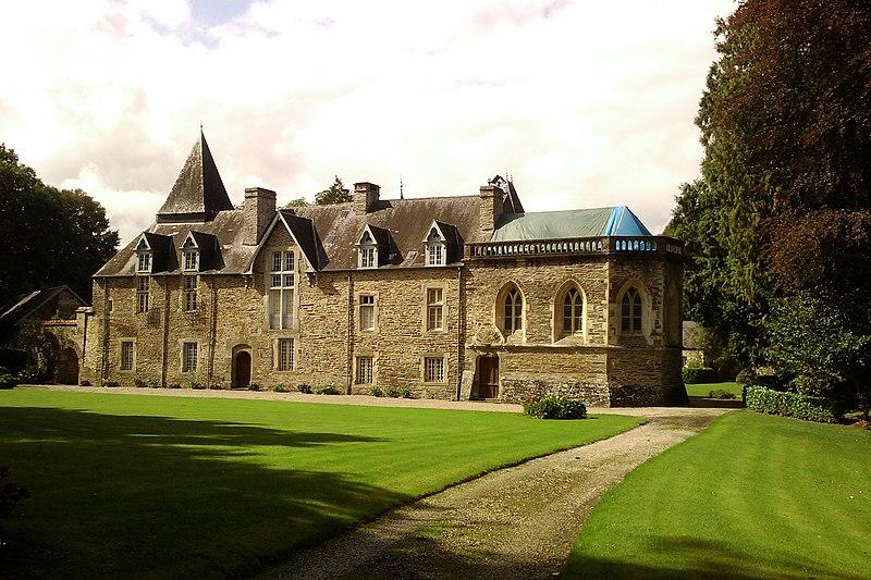 Photo du Monument Historique Château de la Vaucelle situé à Saint-Lô