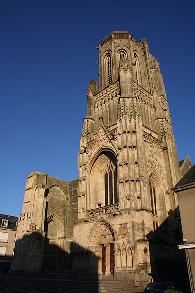 Photo du Monument Historique Eglise Notre-Dame situé à Saint-Lô