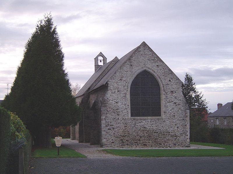 Photo du Monument Historique Ancienne léproserie de la Magdeleine situé à Saint-Lô