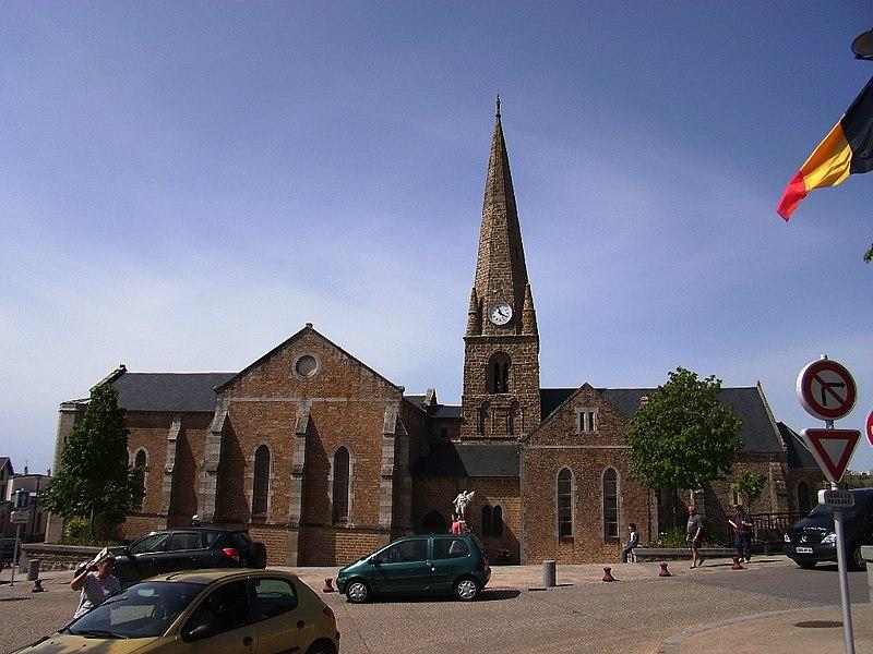 Photo du Monument Historique Eglise situé à Saint-Pair-sur-Mer